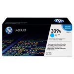 HP 309A Cyan Toner Cartridge, Model Q2671A, Page Yield 4000
