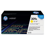 HP 309A Yellow Toner Cartridge, Model Q2672A, Page Yield 4000