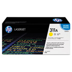 HP 311A Yellow Toner Cartridge, Model Q2682A, Page Yield 6000