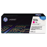 HP 123A Magenta Toner Cartridge, Model Q3973A, Page Yield 2000