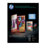 HP Tri Fold Brochure Paper, Matte, 8 1/2 x 11, 100 Sheets/Pack