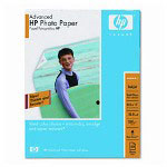 HP Advanced Photo Paper, Soft Gloss, 50 sheets, 8.5 x 11
