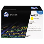 HP 643A Yellow Toner Cartridge, Model Q5952AG, Page Yield 10000