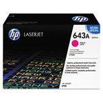 HP 643A Magenta Toner Cartridge, Model Q5953AG, Page Yield 10000
