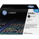 HP 644A Black Toner Cartridge, Model Q6460A, Page Yield 12000