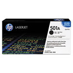 HP 501A Black Toner Cartridge, Model Q6470AG, Page Yield 6000