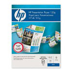 HP Soft Gloss Presentation Laser Paper, 8 1/2 x 11, 200 Sheets/Pack, White