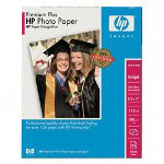 HP Premium Plus Photo Paper, Soft Gloss, 8 1/2 x 11, 25 Sheets/Pack