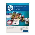 HP Glossy Color Laser Brochure Paper, 8 1/2 x 11, 250 Sheets/Pack