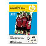 HP Glossy Advanced Photo Paper, 4 x 6 With Tab