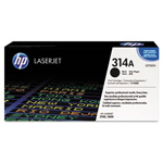HP 314A Black Toner Cartridge, Model Q7560A, Page Yield 6500