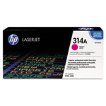 HP 314A Magenta Toner Cartridge, Model Q7563A, Page Yield 3500