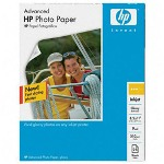 HP Advanced Photo Paper, Glossy, 8 1/2 x 11, 25 Sheets/Pack