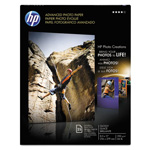 HP Advanced Photo Paper, 56 lbs., Glossy, 8-1/2 x 11, 25 Sheets/Pack