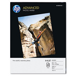 HP Advanced Photo Paper, 56 lbs., Glossy, 8-1/2 x 11, 50 Sheets/Pack