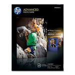 HP Advanced Photo Paper, Glossy, 8 1/2 x 11, 100 Sheets/Pack