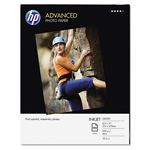 HP Advanced Photo Paper, 56 lbs., Glossy, 8-1/2 x 11, 100 Sheets/Pack