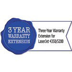 HP U3469E Three-Year Warranty Extension for LaserJet 4350/5200