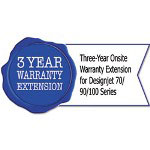 HP U3477E Three-Year Onsite Warranty Extension for Designjet 70/90/100 Series