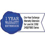 HP U3793PE One-Year Exchange Warranty Extension for LaserJet 2300/2400/P3005 Series