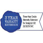 HP U4663E Three-Year Onsite Warranty Extension for Designjet 10/20/30/50 SVC