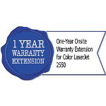 HP U4930PE One-Year Onsite Warranty Extension for Color LaserJet 2550