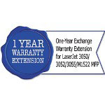 HP U9812PE One-Year Exchange Warranty Extension for LaserJet 3050/52/55/M1522 MFP