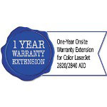 HP UA346PE One-Year Onsite Warranty Extension for Color LaserJet 2820/2840 AIO