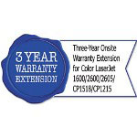 HP UC733E Three-Year Exchange Warranty Extension fr CL 1600/2600/2605/CP1518/CP1215