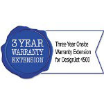 HP UD631E Three-Year Onsite Warranty Extension for Designjet 4500