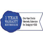 HP UD640PE One-Year Onsite Warranty Extension for Designjet 4500