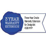 HP UD644E Three-Year Onsite Warranty Extension for Designjet 4500 MFP