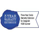 HP UD900E Three-Year Onsite Warranty Extension for Designjet 4500 Scanner