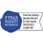 HP UE201E Three-Year Exchange Warranty Extension for CL CM1015/1017/1312NFI MFP