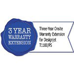 HP UG723E Three-Year Onsite Warranty Extension for Designjet T1100/PS