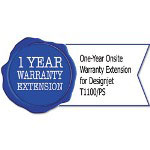 HP UG728PE One-Year Onsite Warranty Extension for Designjet T1100/PS