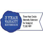 HP UH467E Three-Year Onsite Warranty Extension for Designjet T1100 MFP