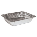 "Handi-Foil Aluminum Steam Table Pans, Half-Size, 2.63"" Deep"