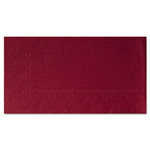 Hoffmaster Dinner Napkins, 2-Ply, 15 x 17, Burgundy, 1000/Carton