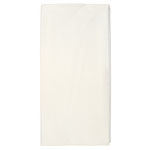 "Hoffmaster Tissue/Poly Tablecovers, 82"" Diameter, White"