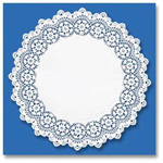 Hoffmaster Lace Doily, White
