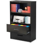 "Hirsh Lateral Combo Files, 36"" x 18-3/5"" x 60"", Black"