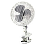 Holmes Personal Clip Fan, Two-Speed, White