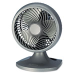 Holmes HAOF90-UC Charcoal Oscillating Adjustable Tilt Table/Wall Blizzard Power Fan, 3 Speed, 8""