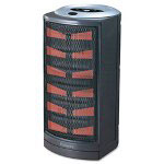 "Holmes HCH4953-U Dark Gray Ultra Quiet Ceramic Heater, 8 3/4"" x 7 7/8"" x 15"""