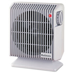 Holmes Compact Energy Efficient Heater Fan, Gray, 4.84w x 8.19d x 9.92h