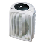 "Holmes HFH442-UM White 1500W Heater Fan with ALCI Heater in a Plastic Case, 10 1/4"" x 6 1/2"" x 12 1/2"""