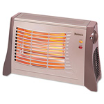 Holmes Ceramic Radiant Heater, 17 1/2 x 6 1/2 x 11, Light Brown