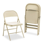 Bevis Custom Furniture Steel Folding Chairs