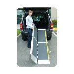 "Home Care Products EZ-Access Trifold Ramp, 8', Aluminum, 8' x 29"" x 3"""